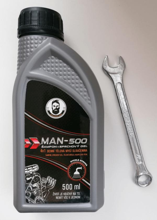 Dušo želė šampūnas vyrams