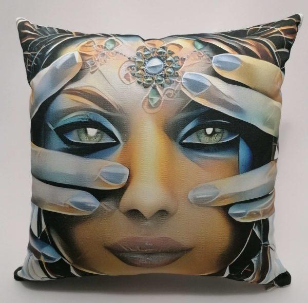 Dekoratyvinė pagalvė Moteris