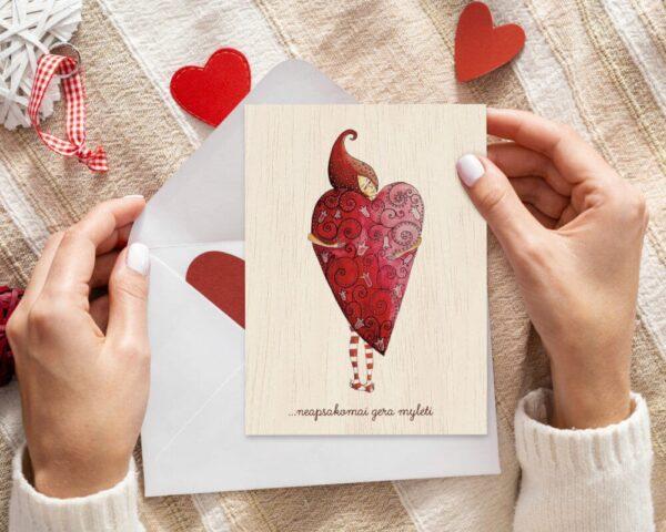Atvirukas neapsakomai gera mylėti