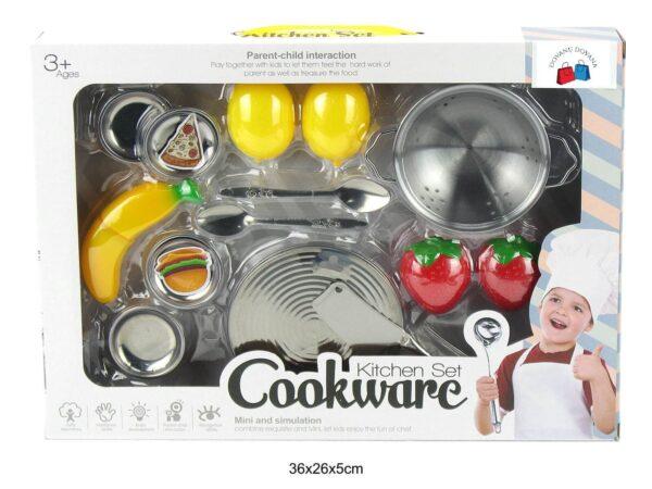 Žaislinis virtuvės įrankių rinkinys