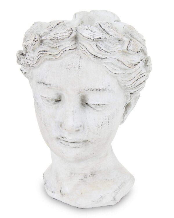 Vazonas baltas Moteris
