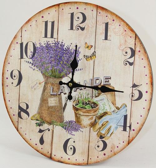 Laikrodis Levandos