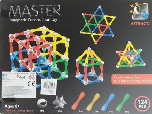 Magnetinis konstruktorius Master1