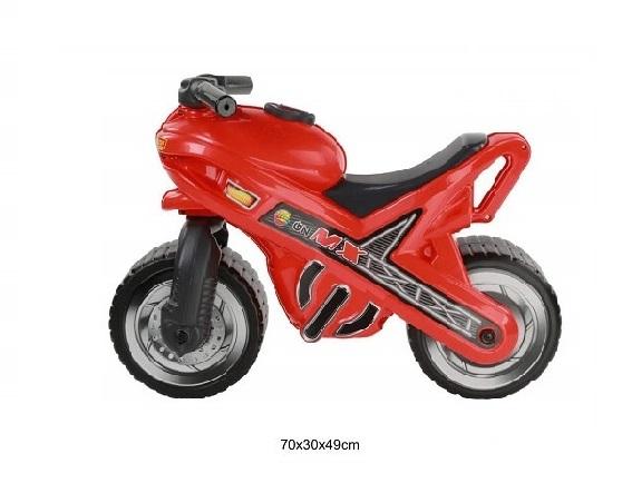 Motociklas paspirtukas raudonas